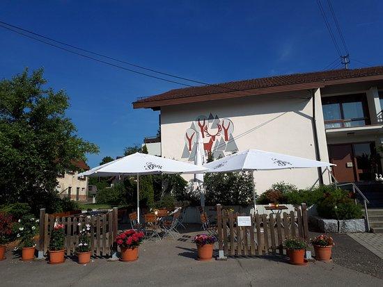 Gomadingen, Niemcy: La terrasse