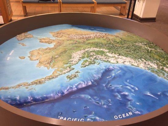 Huge map of Alaska Picture of Anchorage Alaska Public Lands