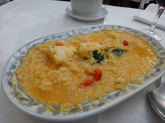 Casa Nanda: rice with angler fish