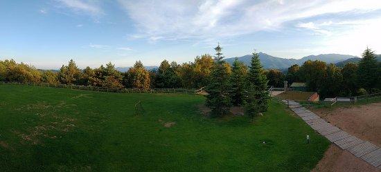 Vilar Rural de Sant Hilari Sacalm: Vista desde el hotel