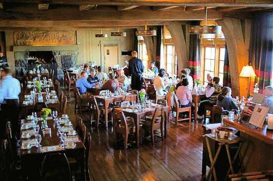 Cascade Dining Room Timberline Lodge