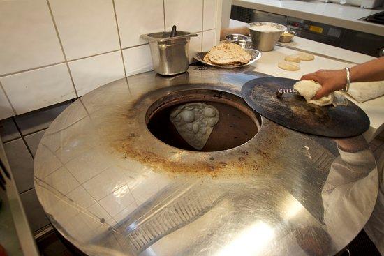 Benares Indisk Restaurant: The chef makes good home baked nan bread