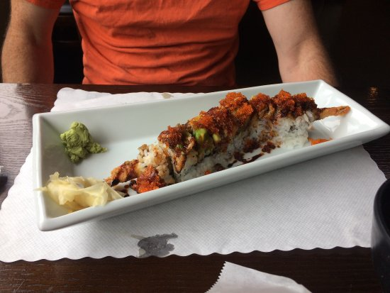Fortuna, CA: Dragon roll