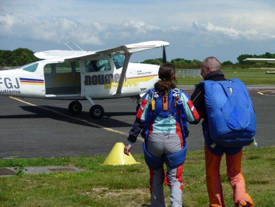 Saut en parachute à Lessay