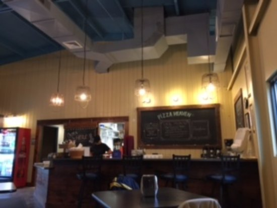 Spring Mills, Pennsylvanie : Ordering counter, specials menu board and entry to kitchen.