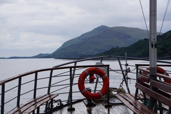 Crannog Cruises: It's a nice traditional motor vessel and the loch is fairly calm.