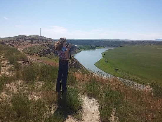 Fort Benton, Монтана: Missouri River outside Ft. Benton