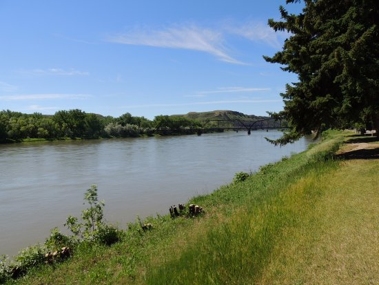 Fort Benton, MT: Missouri River in Ft. Benton.