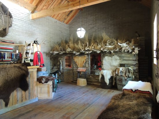 Fort Benton, MT: Inside enclosure