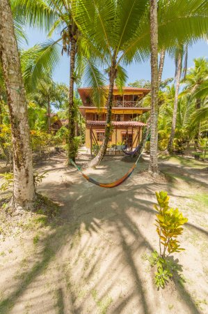 Carenero Island, Panamá: Entrance of the hotel