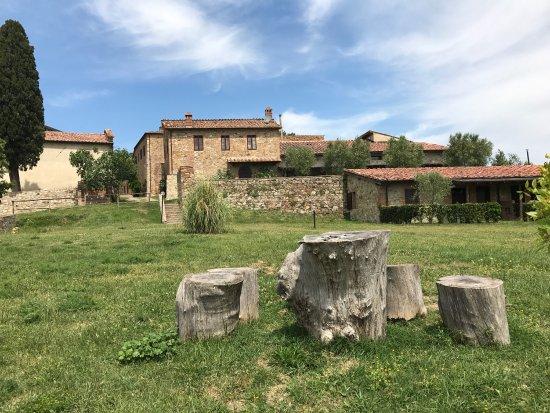 Monticiano, İtalya: Il borgo