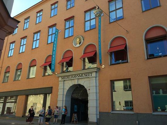 the facade bild fr n medeltidsmuseet stockholm tripadvisor. Black Bedroom Furniture Sets. Home Design Ideas