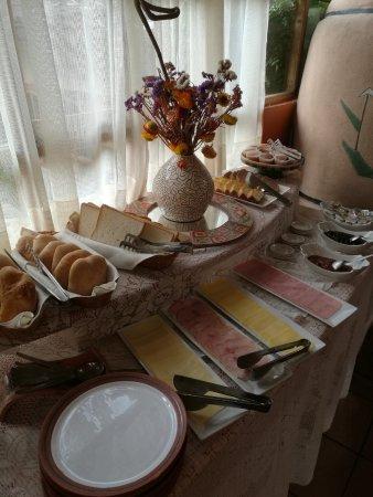 Hotel Samanapaq: Bufete desayuno