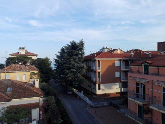 Hotel Splendid: Panoramica dal balcone della nostra camera
