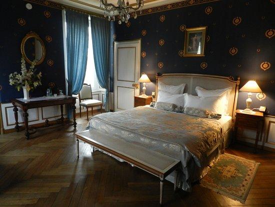 Château de Labessiere : Chambre Bleue