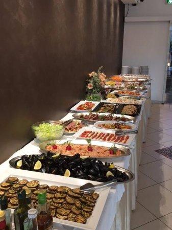 Hotel Rosen Garden : buffet antipasti