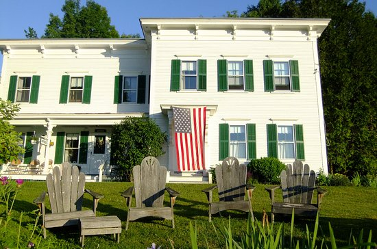Marshfield, VT: The Main House on July 4th.