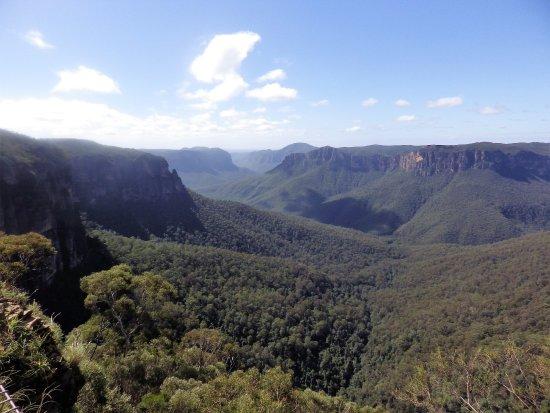 Blackheath, Australia: Valley view..