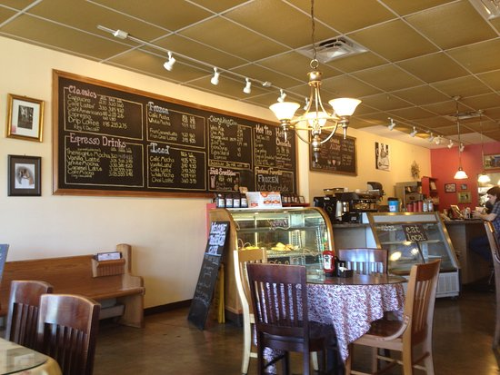 Huber Heights, OH: Heights Cafe - Inside