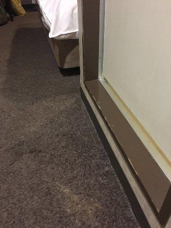 Kadoya Hotel: Damp carpet