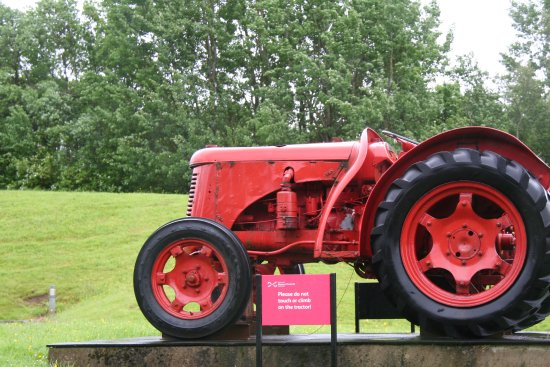 National Museum of Rural Life: Old Tractor