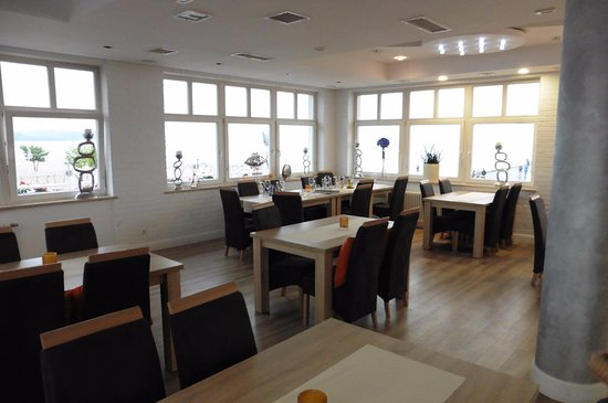 Restauracja Laguna Smaku: Inside the restaurant (top floor)