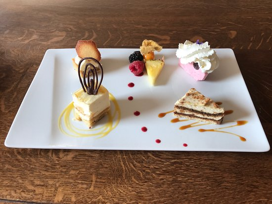 Hotel Restaurant La Cascade: Petites gourmandises