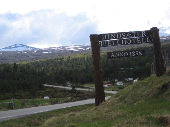 Vagamo, Νορβηγία: Skilt