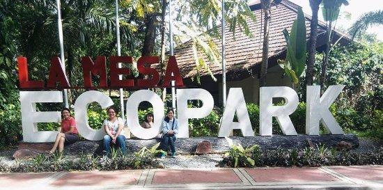 La Mesa Eco Park: Sign