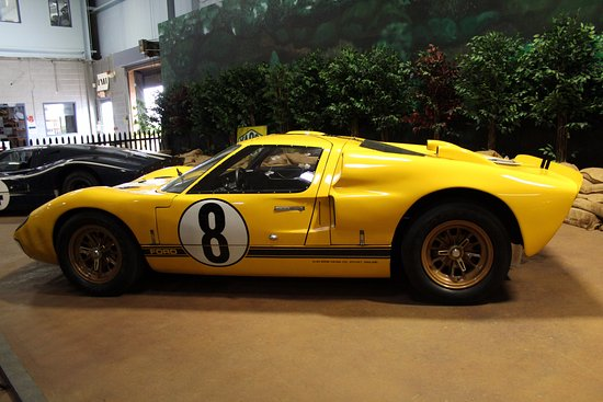 simeone foundation automotive museum 1966 ford gt40 mk ii raced at le mans in