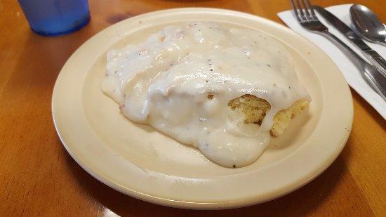 San Jacinto, CA: Biscuits & Gravy
