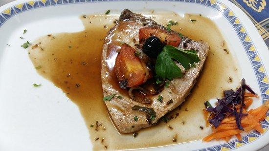 Prazeres, Portugal: Bife de Atum