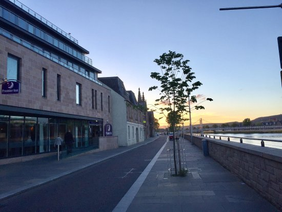 Premier Inn Inverness Centre River Ness Hotel Beautiful Location On