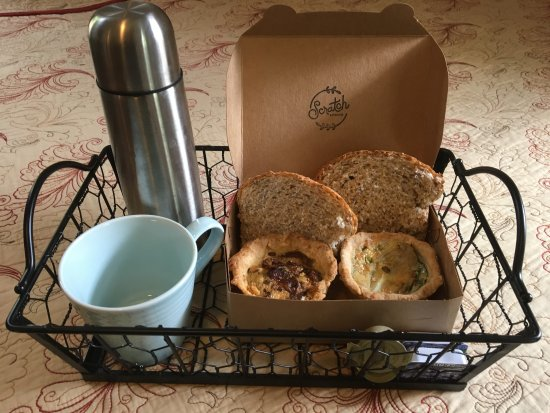 O'Casey's Boutique Inn: Breakfast delivered to your door daily at a time of your choosing