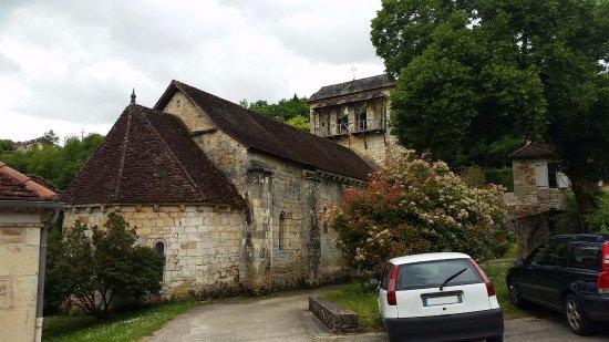 Cazillac, France: Eglise romane de Lasvaux