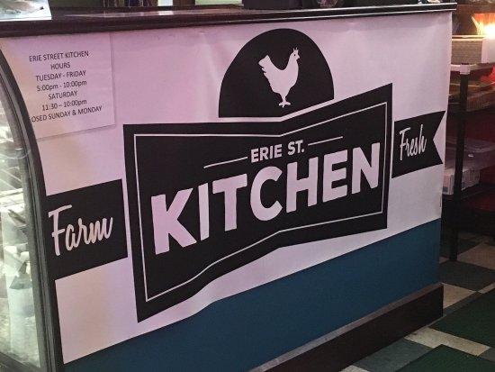 Kent, OH: Erie Street Kitchen