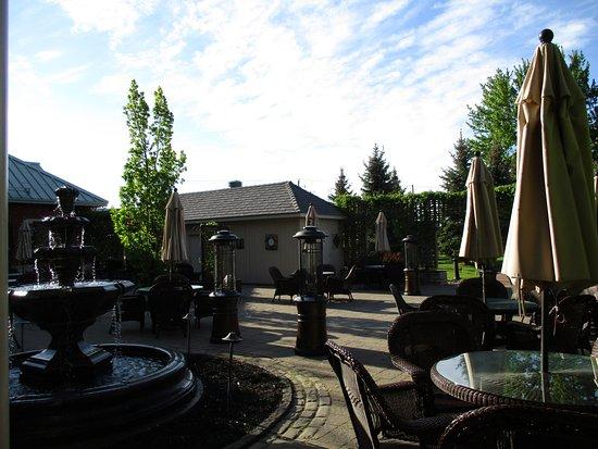 Becancour, Canada: Terrasse