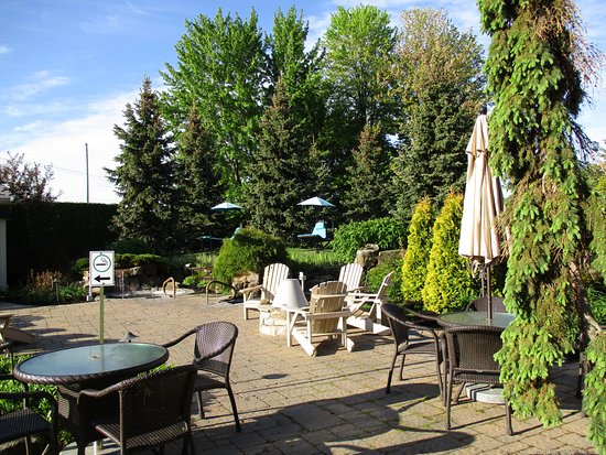 Bécancour, Canadá: Terrasse