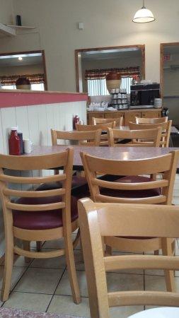 Vestal, NY: Inside Diner