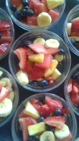 Adora Inn: Daily fresh fruit