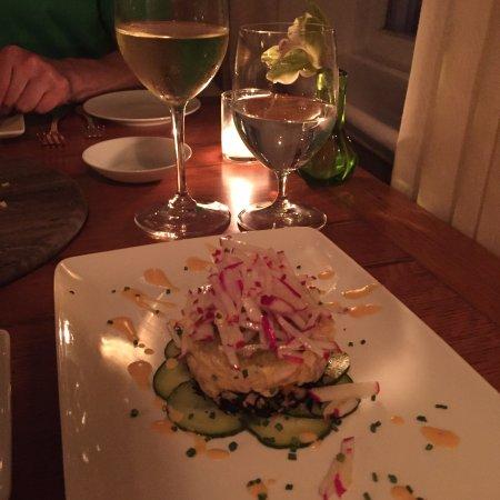 1770 House Restaurant: Fluke Tartare <3