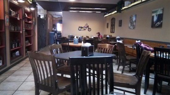 Interior of the Honduras Coffee Company in Stuart VA