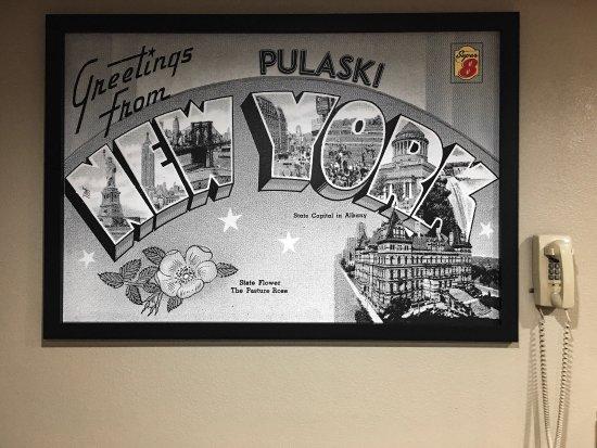 Pulaski, NY: Beautiful Lobby Artwork