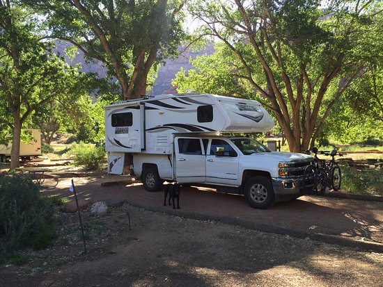 Watchman Campground: Site B009
