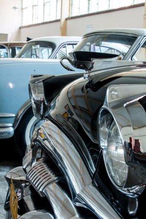Whangarei, Nueva Zelanda: Hood Ornament - 1954 Packard Henney Limousine