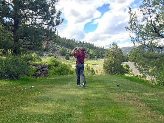 South Fork, Колорадо: Pretty 3 par hole.