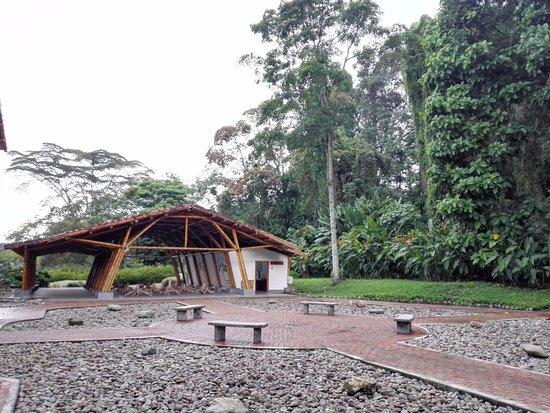 Jardin Botanico del Quindio: Plazoleta