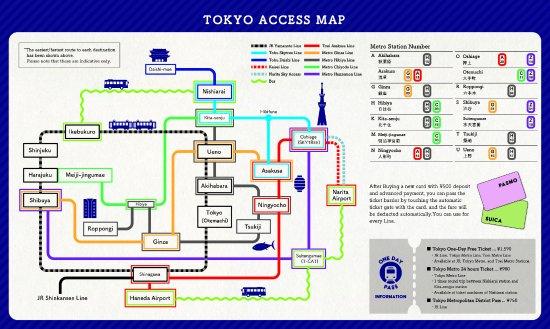 Tokyo Train Map Picture of Emblem Hostel Nishiarai CafeBar