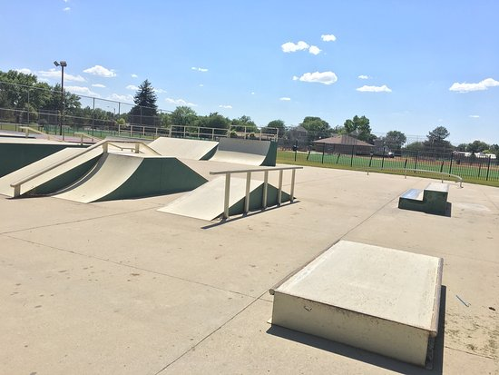 Springville, UT: Skate park photos on a bright sunny day in June.