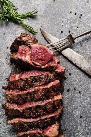 Heiloo, Holandia: De Os Special: een bijzonder stuk vlees voor de grote eter of met z'n twee!